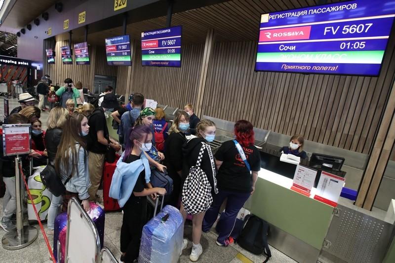 К Сочи готов: Первые рейсы с организованными туристами после отмены ограничений