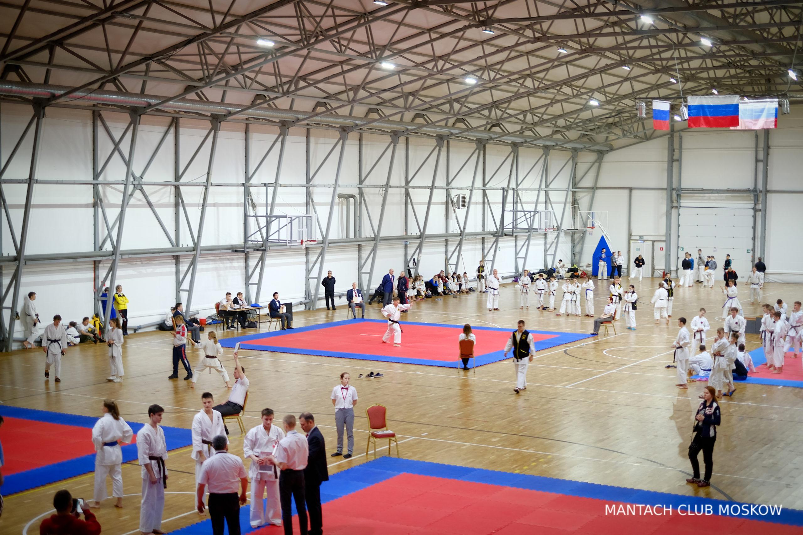Соревнования Федерация всестилевого каратэ России