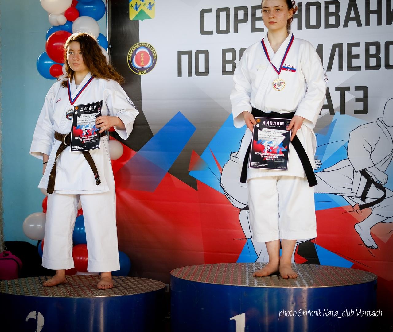 Всероссийский турнир по каратэ 2021